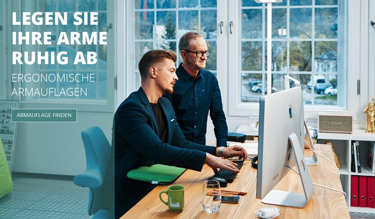 officeplus Produkte - ergonomisches Zuebehoer, ergonomische Armauflage